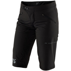 100% Ridecamp Shorts Damer, black